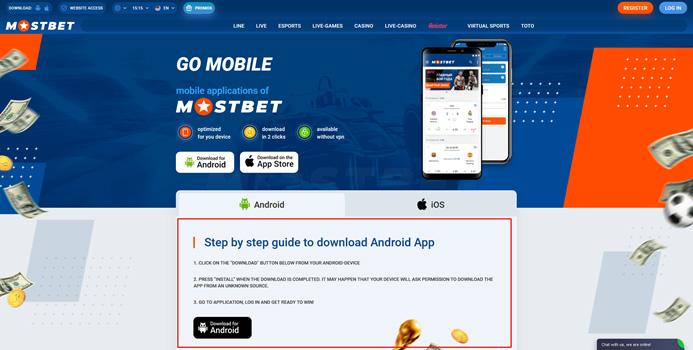Aplikasi Mostbet
